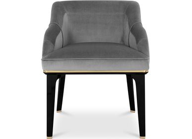 Chairs - SABOTEUR DINING CHAIR - LUXXU