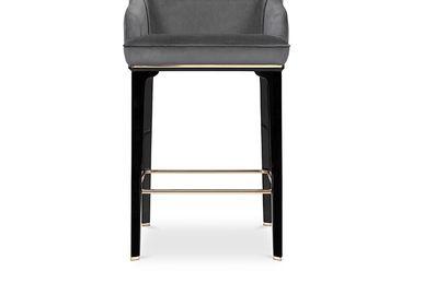 Chairs - SABOTEUR BAR CHAIR - LUXXU