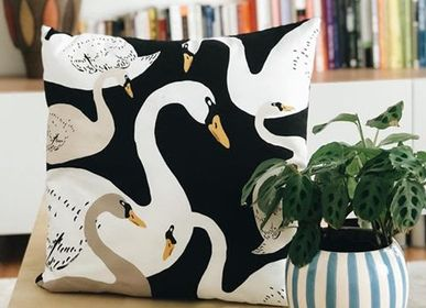 Fabric cushions - SWAN LAKE cushion - MY FRIEND PACO