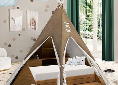 Children's bedrooms - TEEPEE ROOM BED - INSPLOSION