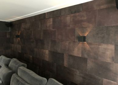 Wall decoration - Leather Wall Tiles - SKIN.LAND