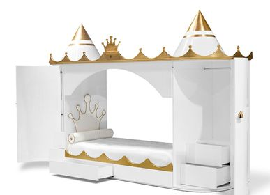 Beds - KINGS & QUEENS CASTLE BED - INSPLOSION