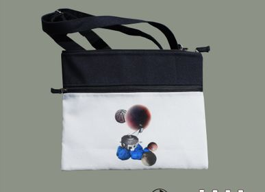 Bags and totes - Bag of recycled polyester - Space collage - MAROOMS