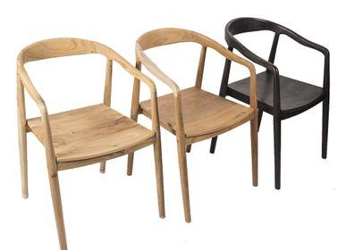 Chaises - Chaise Teck TOKYO - JOE SAYEGH PARIS