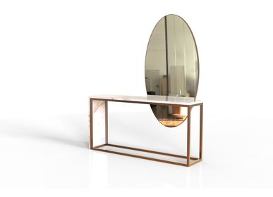 Console table - LIBERICA Console - CAFFE LATTE