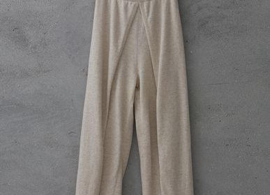 Homewear - Cashmere knitted pants - SANDRIVER MONGOLIAN CASHMERE