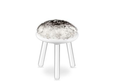 Chambres d'enfants - ILLUSION WHITE BEAR STOOL - CIRCU