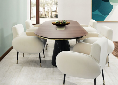 Tables - BERTOIA OVAL DINING TABLE - INSPLOSION