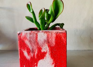 Decorative objects - Concrete Pot | Plant Pot | Marble Concrete - JUNNY