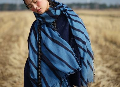 Scarves - Ultra light baby cashmere scarf - print - SANDRIVER MONGOLIAN CASHMERE