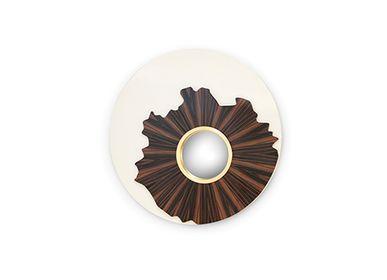 Miroirs - Iris Miroir - CAFFE LATTE
