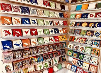 Carreaux de faience - Carrelage azulejos mexicain - AMADERA