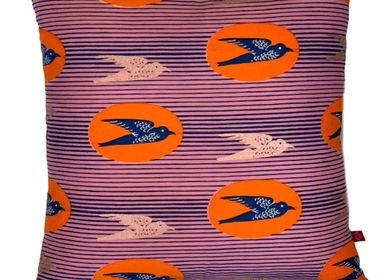 Coussins textile - COUSSIN FASHION OISEAUX BEYONCE - FASHION PILLOWS BY MÜLLERSCHMIDT