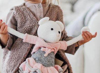 Peluches - Caroline - souris au crochet - LEGGYBUDDY