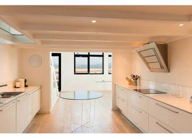 Kitchen Furniture - Dining table round CRYSTAL - DAVID LANGE