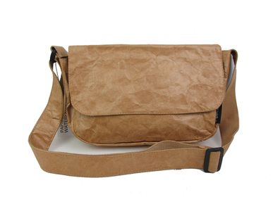 Sacs / cabas - Sac Besace KRAFT - Marron - AUCTOR