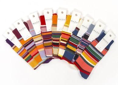 Chaussettes - Pack de chaussettes lignées pour femme - MIA ZIA
