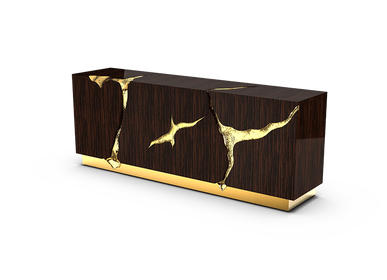 Sideboards - LAPIAZ EBONY Sideboard - BOCA DO LOBO