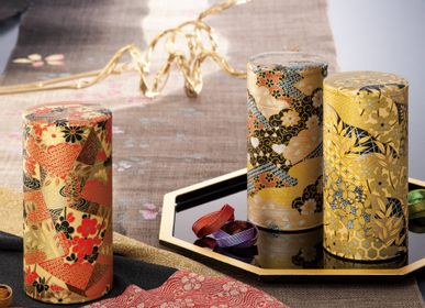Design objects - Washi tea box 200g - SHIROTSUKI / AKAZUKI JAPON