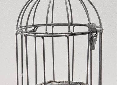 Floral decoration - IRON CAGE FOR PLANTS - FYDEC COLLECTION