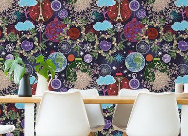 Papiers peints - Panneau Vent d'Hiver - ETOFFE.COM