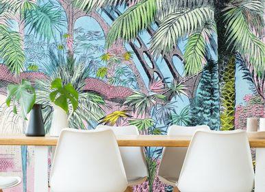 Papiers peints - panneau Jardin d'Hiver - ETOFFE.COM