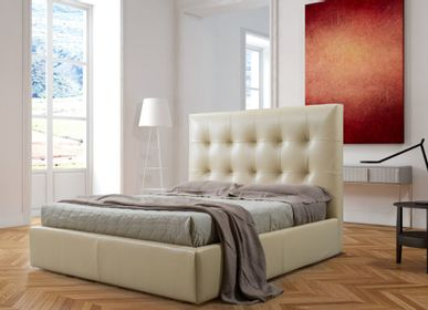 Leather goods - BED GIUNONE - MITO HOME BY MARINELLI