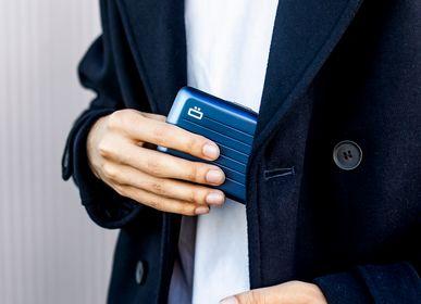 Leather goods - Aluminium wallet STOCKOLM V2 - ÖGON DESIGN