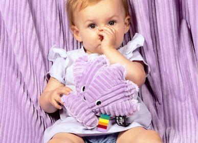 Accessoires pour puériculture - Peluche Ptipotos le coquillage violet - LES DEGLINGOS
