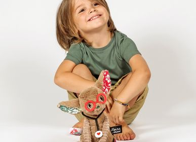 Childcare  accessories - Plush Tamalou, the fennec for Doctors without Borders - LES DEGLINGOS