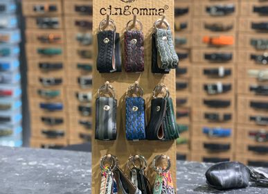 Leather goods - KEY RING CINGOMMA - CINGOMMA
