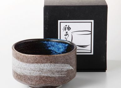 Tea / coffee accessories - Japanese Matcha Bowl - SHIROTSUKI / AKAZUKI JAPON