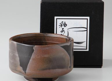 Bowls - Japanese Matcha Bowl - SHIROTSUKI / AKAZUKI JAPON