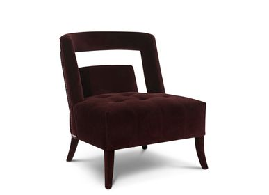Furniture and storage - Velvet Naj armchair - MAISON VALENTINA