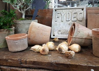 "Flower pots - RAW EARTH RANGE ""TERRACOTTA"" - FYDEC COLLECTION"
