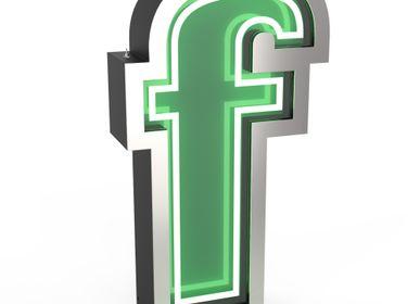 Garden accessories - F | Graphic Lamp - DELIGHTFULL