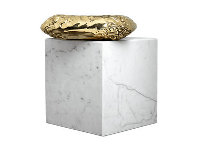 Tables - STONEHENGE CARRARA Side Table - BOCA DO LOBO