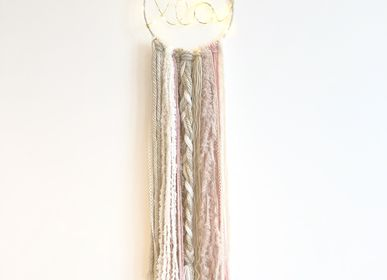 Wall decoration - Dreamcatcher / Beige & pink - LES LOVERS DECO