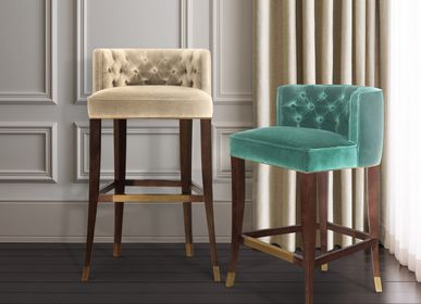 Chairs - BOURBON Bar Chair - BRABBU DESIGN FORCES