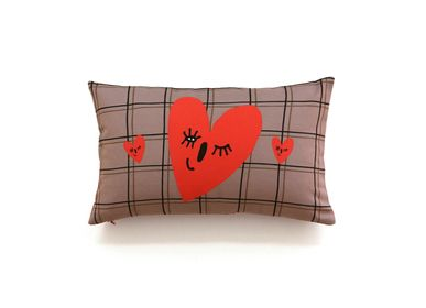 Fabric cushions - WINK OF LOVE - MY FRIEND PACO