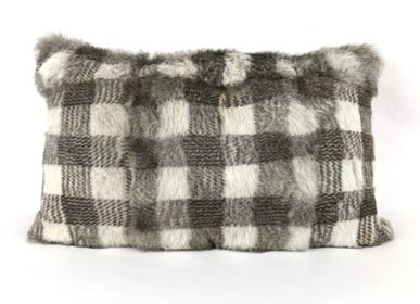 Cushions - Real Rabbit Skin Cushion - TERGUS
