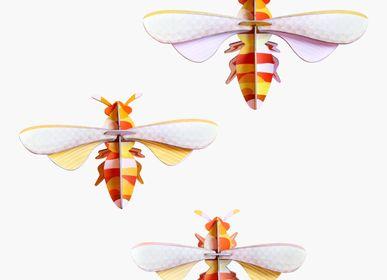 Wall decoration - Honey bees, set of 3 - STUDIO ROOF
