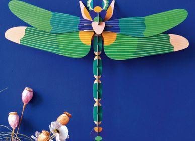 Décoration murale - Libellule géante, vert - STUDIO ROOF