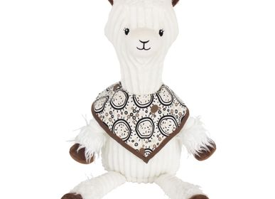 Soft toy - Original Plush Muchachos the llama - LES DEGLINGOS