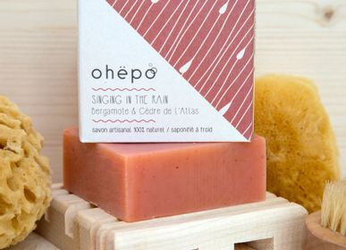 Soaps - Organic soap SINGING IN THE RAIN - OHËPO