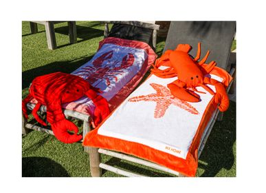 Decorative accessories - outdoor crab throw pillow  - MX HOME