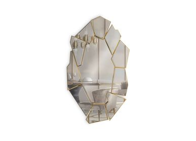 Mirrors - Crackle Mirror  - COVET HOUSE