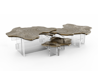 Coffee tables - MONET PATINA Center Table - BOCA DO LOBO