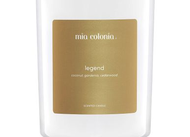 Candles - candle legend 100% vegetable wax - MIA COLONIA
