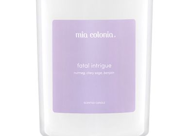 Candles - candle fatal intrigue 100% vegetable wax - MIA COLONIA
